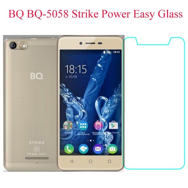 Закаленное стекло для BQ 5058 bqs BQ-5058 Strike Power, легкая Защитная пленка для экрана BQ 5060 5070 5059 5037 5700L 5020 5044