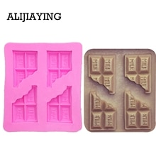 M0014 молочные буквы шоколадная форма украшения торта инструменты помадка moule силиконовые gateau