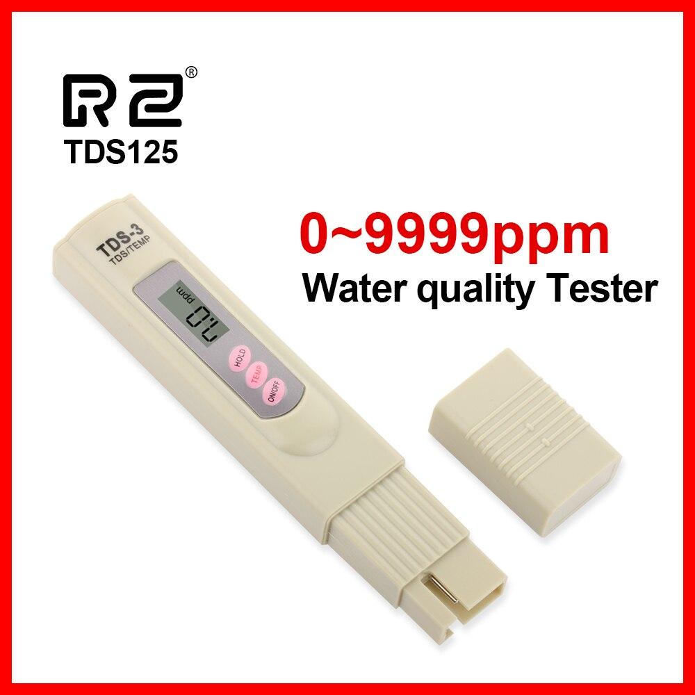 RZ portátil pluma Digital PH TDS medidor probador agua calidad pureza prueba herramienta 0,01 Filtro de alta precisión medición TDS125