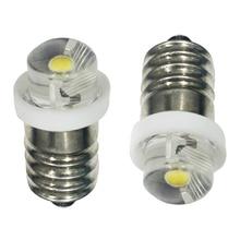 LED ampoule P13.5S CREE XPG2 0.5 W 1 W 3 W mise à niveau lampe de poche ampoule C + D cellule 3 V DC4-10V/6-24 V LED ampoules de remplacement lampe de poche
