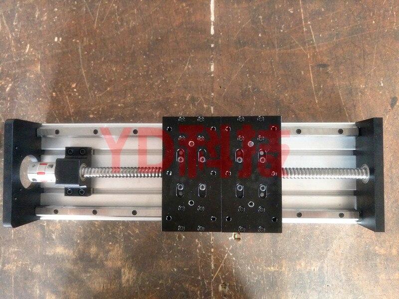 GX155 * 150 1610 300 مللي متر قضيب توجيه خطي للوحات مضغوطة فعالة دون محرك متدرج طاولة عمل