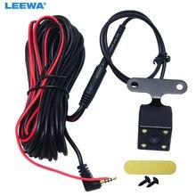 LEEWA-Port vidéo 2.5mm(4Pin) voiture   1 pièce, Port vidéo, caméra arrière, Vision nocturne avec, pour enregistreur vidéo DVR # CA1829