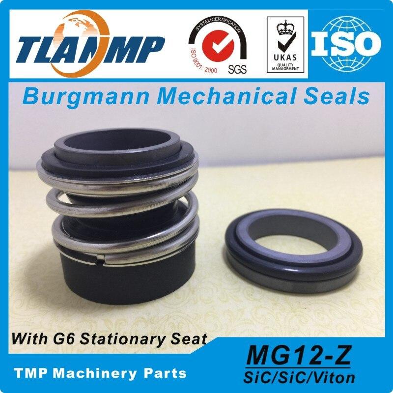 Burgmann-joints mécaniques, MG12/14-Z, MG12/14-G6, joints mécaniques pour Wilo MVI 2/4/8 , MHI 2/4/8/16, pompes MHIL, MG12-14 avec siège stationnaire G6