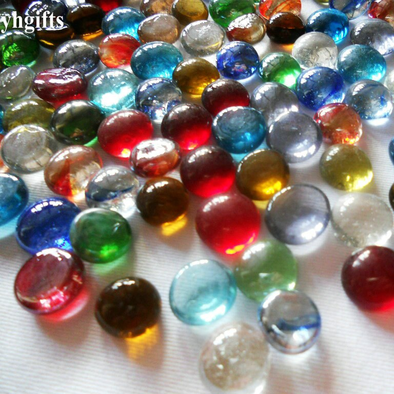 600PCS/1500gram/Lot,Mix 1.5cm round glass beads Glass mosaic Glass art,Glass craftts Mosaic craft Adult DIY Crafts and arts OEM