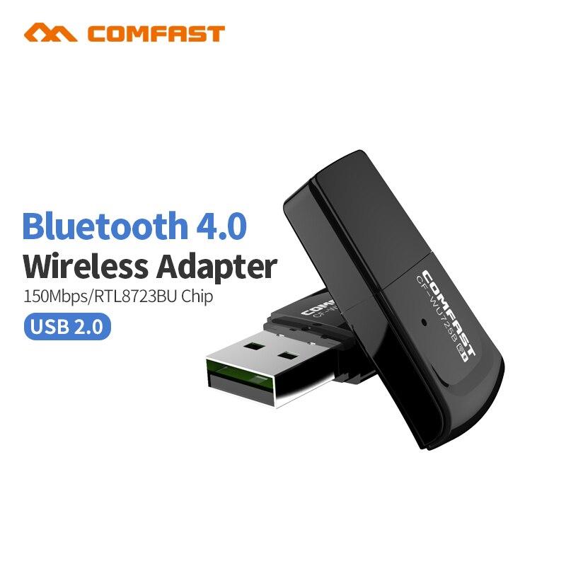 20 шт USB wifi адаптер Bluetooth V4.0 беспроводная сетевая карта wifi антенный передатчик 802.11b/n/g PC Wi-Fi LAN интернет ресивер
