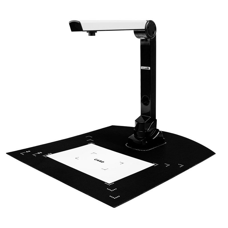 A4 presentador Visual definición Speed Bank Office Book rápido HD portátil archivo pintura documento continuo fotógrafo escáner