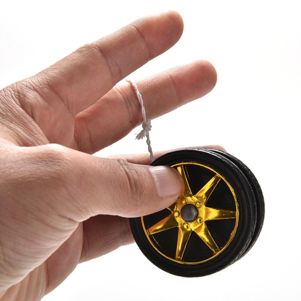 1 шт. уникальный дизайн колес, шар Yoyo с гальваническим покрытием, шариковый подшипник YoYo, детская игрушка в подарок, магическое жонглировани...