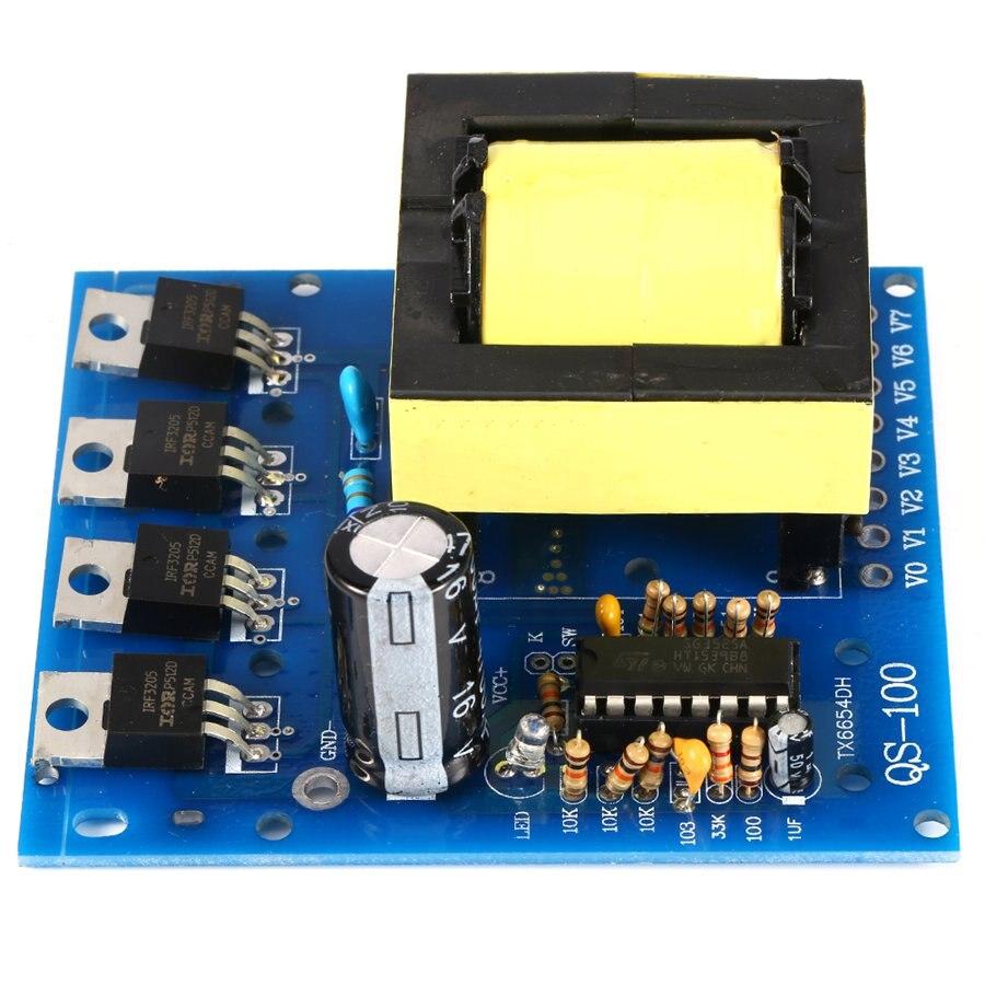VBESTLIFE-convertisseur de courant 12V à 220V 380V 18V AC 500W   Convertisseur de carte, transformateur de puissance, onduleur haute fréquence