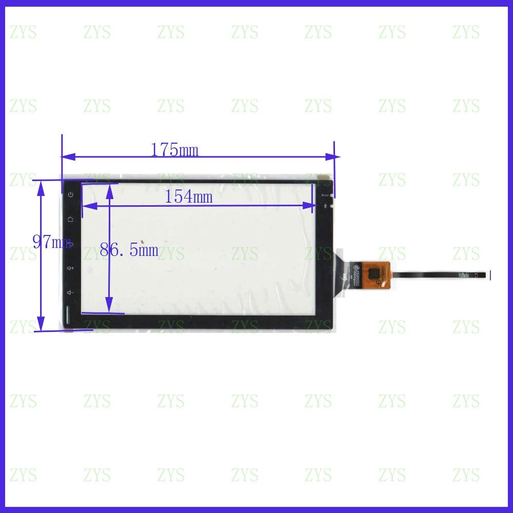 ZhiYuSun nuevo 7 pulgadas 174*97 Sensor capacitivo de cristal de esolution envío gratis GT911 compatible LXH-TPC0013