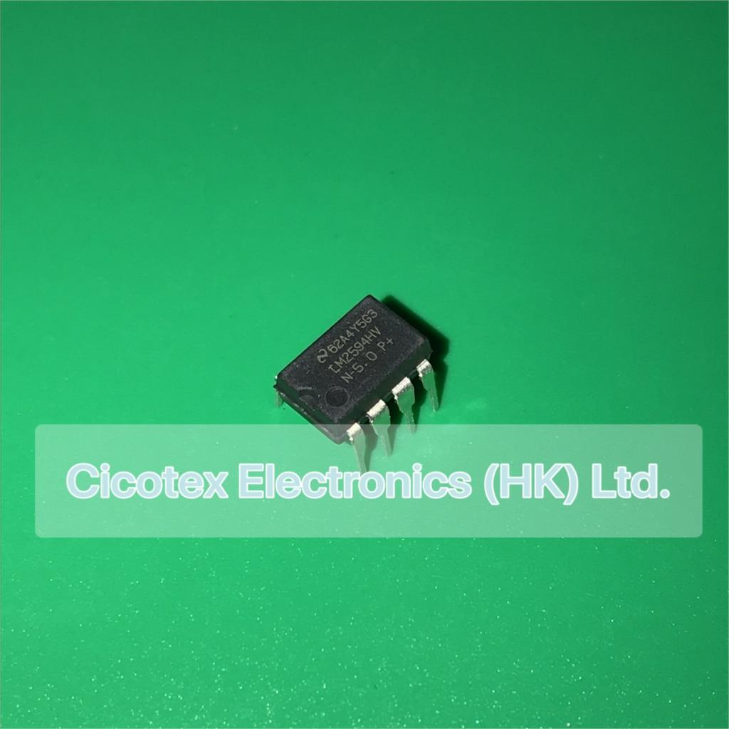 5 unids/lote LM2594HVN-5.0 DIP8 LM2594 N-5.0P + IC REG BUCK 5 V 0.5A 8-DIP LM2594HV-5.0 LM2594HV N-5.0 2594 HV-5 V