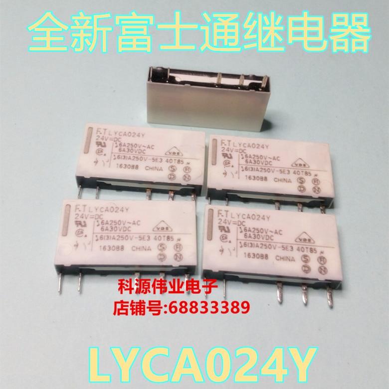 FTR-LYCA024Y 24VDC FTR relé 5 quatro pés de UM conjunto de conversão-