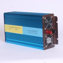1500W puhdas siniaalto invertteri 12V/24VDC à 110V/220VAC onde sinusoïdale Pure onduleur solaire surtension 3000W