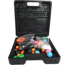 Modèle de structure moléculaire organique aide à la formation chimique appareil denseignement balle en caoutchouc coloré livraison gratuite