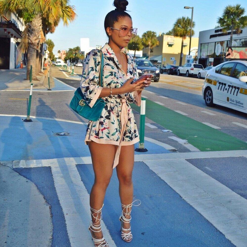 Красочный женский модный Повседневный пикантный цифровой принт, кардиган, комбинезон, LZ-583, женский тренировочный цельный комбинезон с блес...