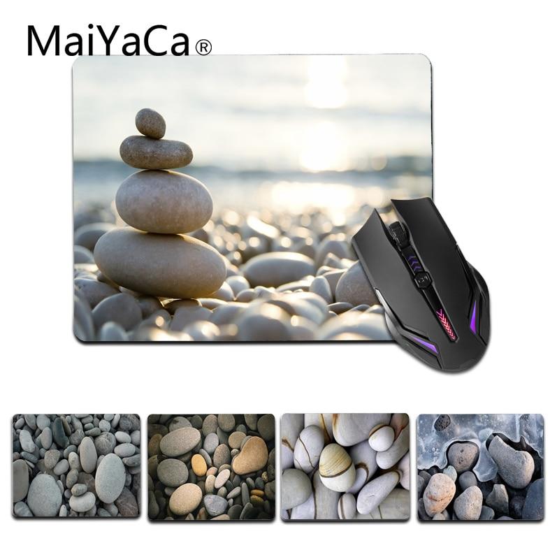 MaiYaCa Rocks Beach Stone Gamer Speed Mice розничная продажа маленький резиновый коврик для мыши размер для 18x22 см 25x29 см игровые коврики