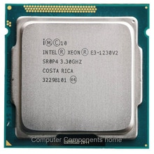 Processeur Intel Xeon Quad-Core E3-1230 v2 E3 1230 V2 3.3GHz LGA 1155 CPU LGA