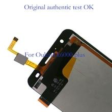 Kit de réparation dassemblée de numériseur décran tactile daffichage à cristaux liquides doukitel K6000 Plus