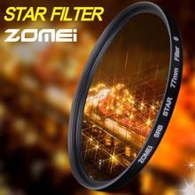 Zomei Star Line Star filtre 4 6 8 Piont Filtro filtres de caméra 40.5 49 52 55 58 62 67 72 77 82mm pour Canon Nikon Sony DSLR appareil photo