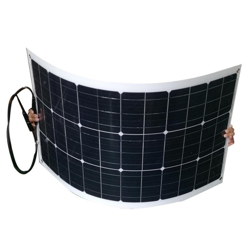 Panneau Solaire Souple 160w Panel Solar Flexible 80w 12v 2 uds Semi...