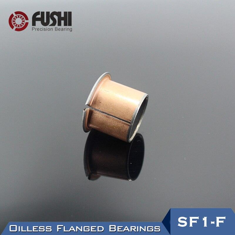 SF1-F Oilless Flanged Bushing Bearing SF1-F08060 SF1-F08070 SF1-F08075 SF1-F08120 ( 5 Pcs) SF1 Self Composite Flange Bearings