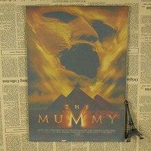 Papier kraft décoratif pour momie   Série daffiches de film, peinture rétro aventure, Jet Li
