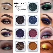 12 Color Monochrome Shimmer Eye Glitter Powder Waterproof Makeup Satin Flash Gold Red White Blue Eyeshadow Palette