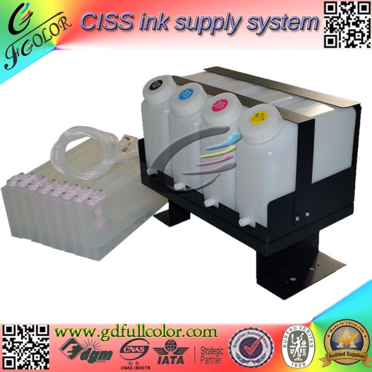 Duoble 4 color CIS BS3 CISS para sistema de tinta CJV30-130 para sistema de impresión de tinta a granel con Chip permanente