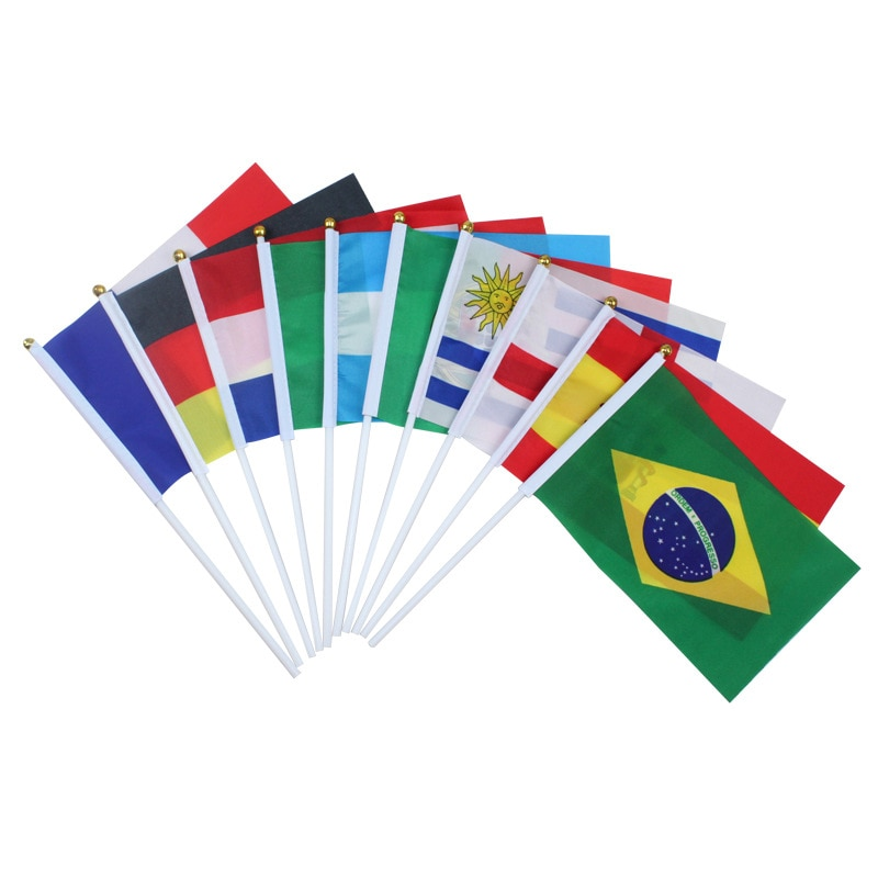 Britische Flagge Südafrika Flagge Drucken Polyester Terylene Handheld Patriotischen Nationalen Nationalflag Drop verschiffen