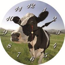 Horloges murales De vache Chic   Horloge murale Vintage, montres murales, décor De la maison, horloge De cuisine ronde