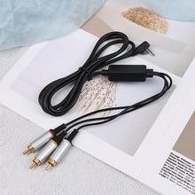 AV Audio Video Cable a RCA de extensión de Cable de datos para Sony PlayStation Portátil PSP 2000 3000 Slim a Monitor de TV