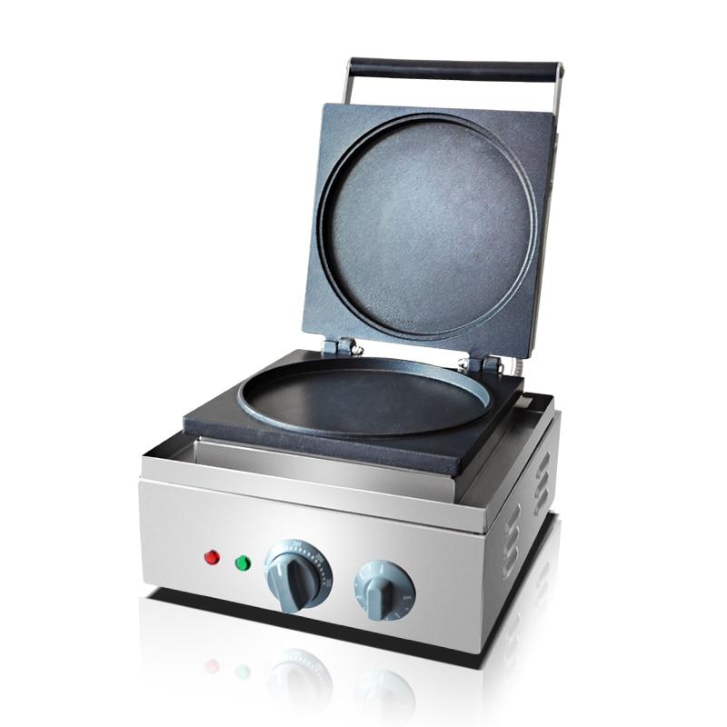 110V 220V Commercial Electric Pancake Waffle Maker Machine Non-stick Multifunctional Pie Cake Waffle Machine EU/AU/UK/US