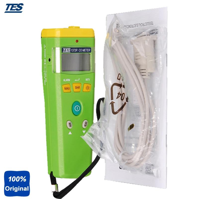 Przenośny detektor gazu tlenku węgla 0 ~ 999 ppm TES1372R