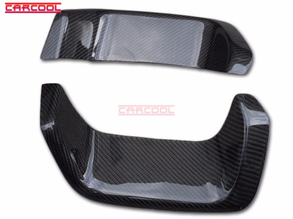 Estilo de coche CF de fibra de carbono Bodykit para 08 + Impreza Hatchback GRB GRF WRX STI 10th parachoques Varis calor Sheild par