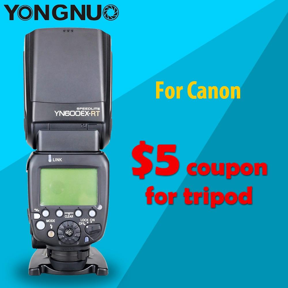 Hss yongnuo yn600ex-rt ii 2.4g sem fio 1/8000 s mestre ttl flash speedlite para canon camera como 600ex-rt eletrônico presente difusor