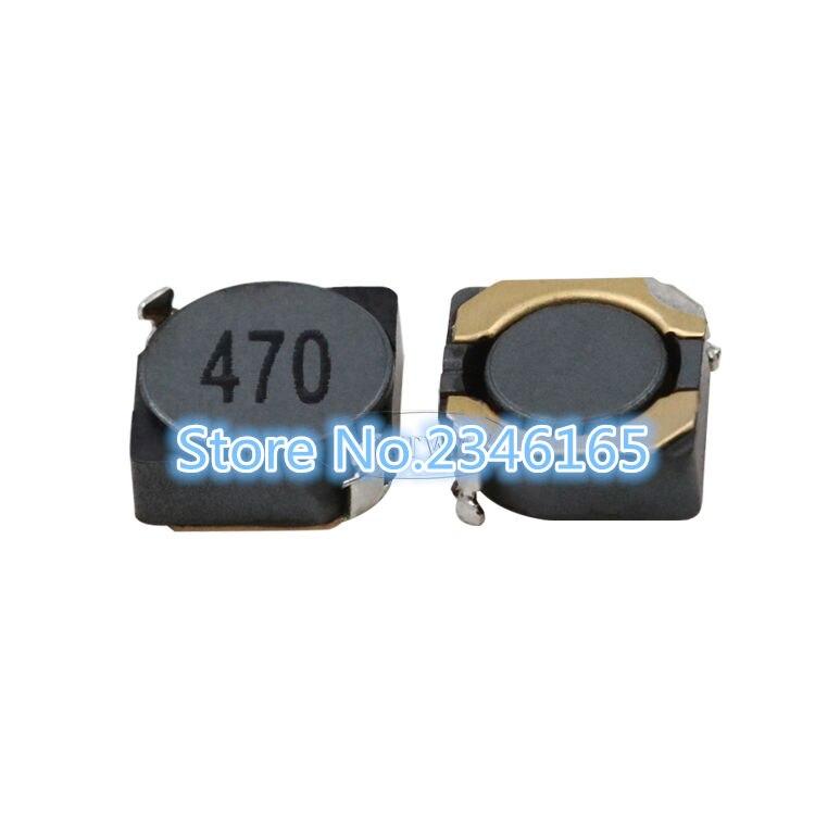 10 unids/lote blindado SMD 47UH 68UH 100UH 150UH 5D28