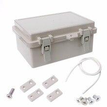 Водонепроницаемый электронный корпус распределительной коробки IP65, внешний клеммный кабель, электрическое оборудование, принадлежности