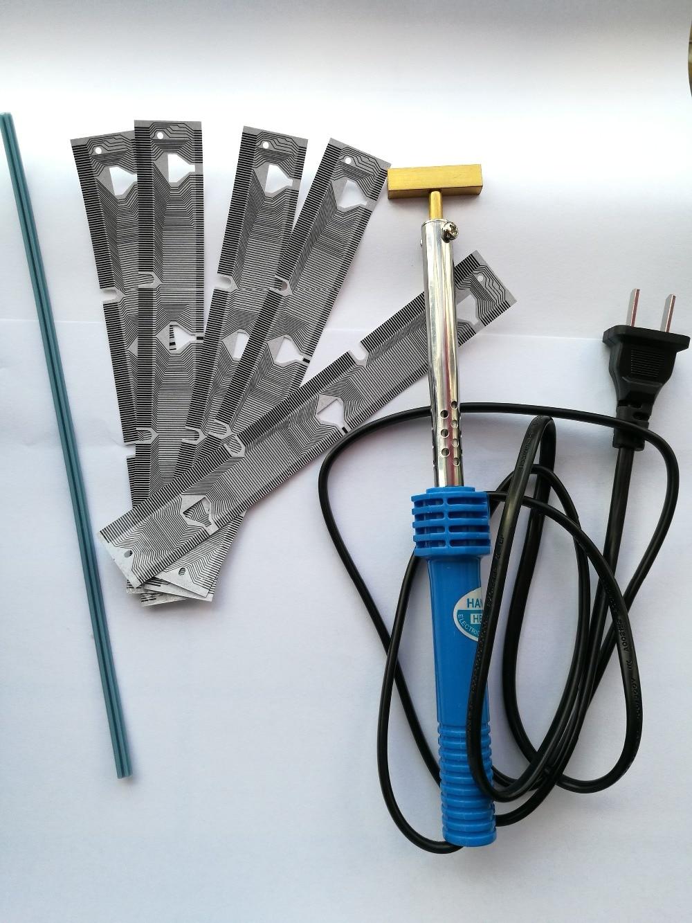 15% de descuento, soldador de 40W + 5 uds para BMW E38 E39 M5 X5, KIT de reparación de fallos de píxeles de pantalla LCD para Cable de cinta de grupo de velocímetro