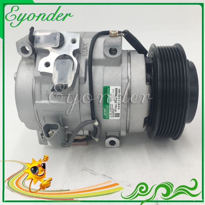 A/C AC Air Con Kompressor Kühlung Pumpe für Toyota LAND CRUISER PRADO 2,5 883106A141 8832035730 883100K270 883102F020 883106A140