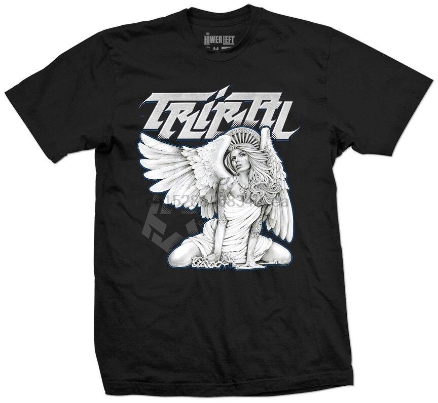 2019 verano Cool camiseta Tribal engranaje ratón Ángel hombres negro camiseta tatuaje Pin Up chica gráfico camiseta divertida
