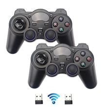 2.4G Draadloze Gamepads Joystick Game Controller Joypad Voor PS3 Pc Android Windows Raspberry Pi 4 Retroflag Nespi Retropie