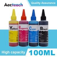 Aecteach 100ML Bottle Refill Dye ink Kit for HP 940 XL Officejet Pro 8000 8500 8500a A809a A909 A910a Printer Ink Cartridge