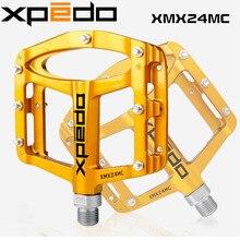 Nouveau vtt VTT pédales de vélo vélo ultra-léger en alliage de magnésium pédales 255g pédales de vélo plat Xpeddo XMX24MC