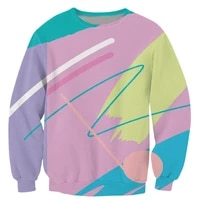 plus size xs 7xl men women long sleeve outerwear harajuku hipster pullover fresh paint 3d print crewneck casual sweatshirt