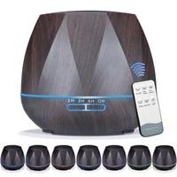 Diffuseur dhuile essentielle et humidificateur dair ultrasonique a brume fraiche  veilleuse pour bureau  maison  chambre a coucher  salon  550ml