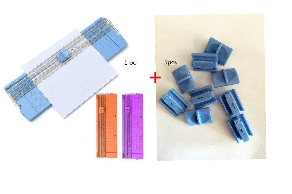 1PCOffice Kit A4 Präzision Papier Karte Kunst Trimmer Foto Cutter Schneiden Matte + 5Pcs Ersatz Messer Für Papier cutter Trimmer Ersatzteile