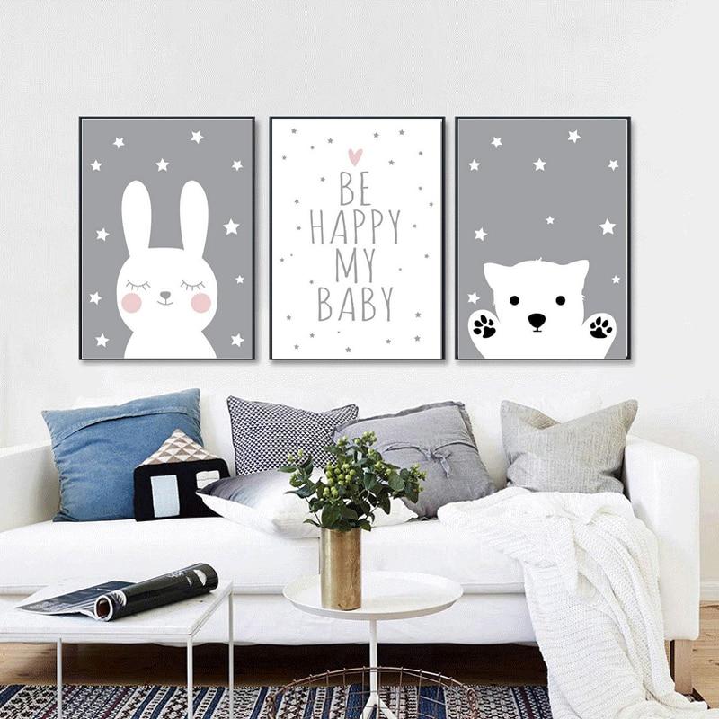 ZOOYA 5d Diamond Painting Cartoon Diy Diamond Embroidery Bear and rabbit Child's gift Gallery baby bedroom decoration Sale FBR