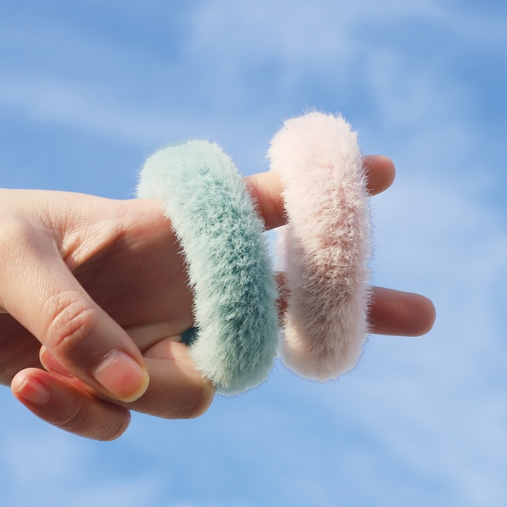 Nova chegada cor sólida hairbands bonito moda meninas elástico cabelo faixa titular para rabo de cavalo acessórios para cabelo feminino