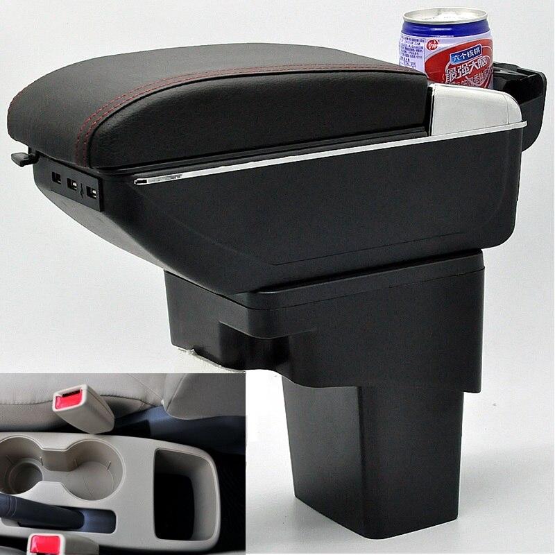 Автомобильный подлокотник центральный ящик для хранения с USB для hyundai solaris Accent Blue Accent WIT Fluidic Verna Grand Avega dodgo attitude i25