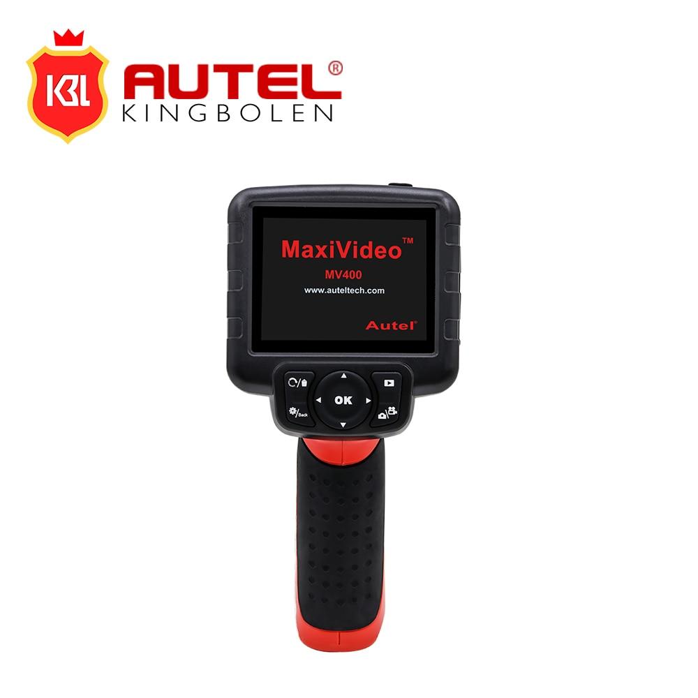 100% Original Autel Maxivideo MV400 Videoscope Digital con cámara de inspección de cabezal de imagen de 8,5mm de diámetro
