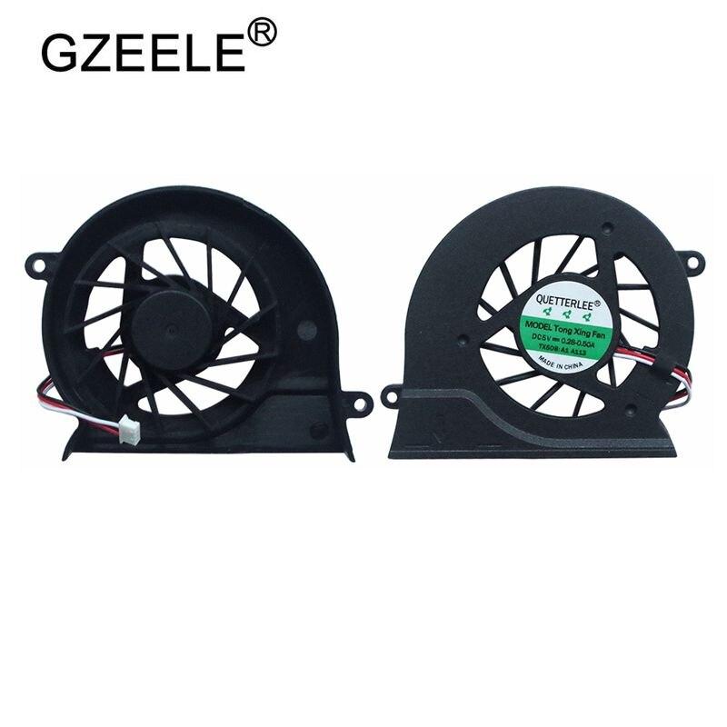 GZEELE Nueva CPU ventilador de refrigeración para SAMSUNG NP300V4A NP 300E4A NP200A4B NP300V5A NP305E5A portátil 3Pin reemplazo del ventilador del refrigeración